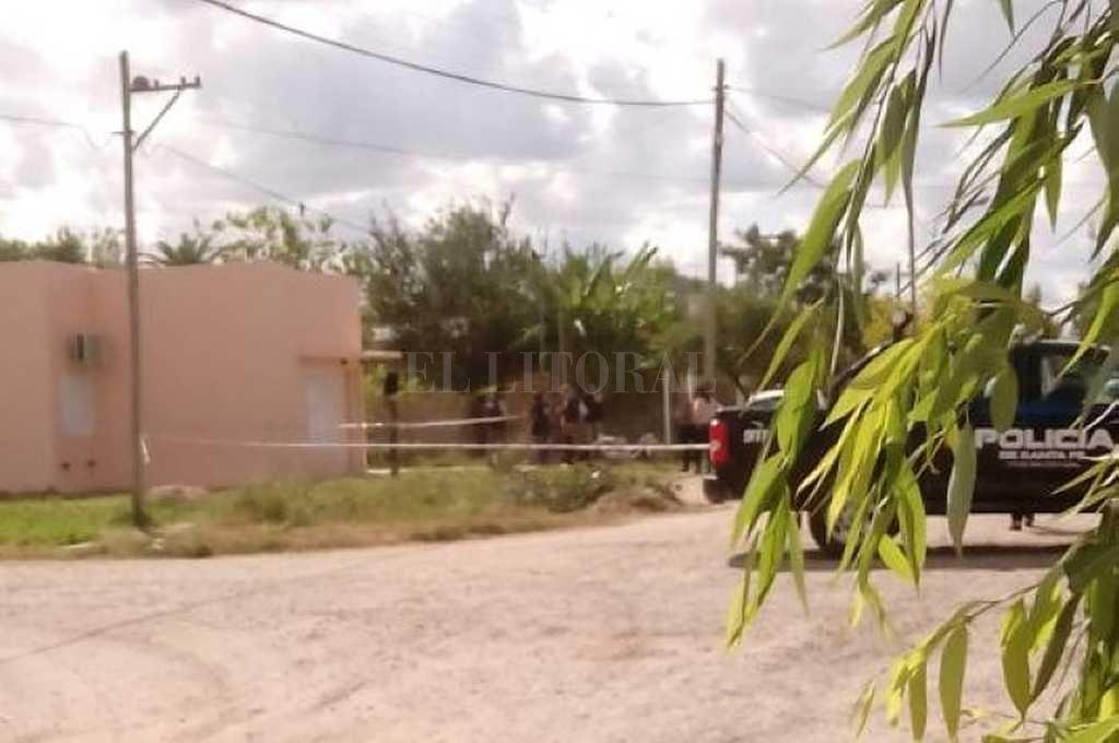 San Cristóbal. Tras atacar a su ex pareja, un hombre escapó hacia la zona rural y se quitó la vida. Crédito: Gentileza Dpto Relaciones Policiales Santa Fe