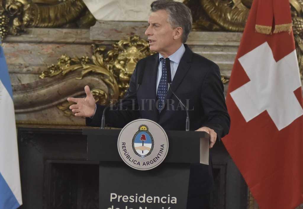 Macri advirtió: