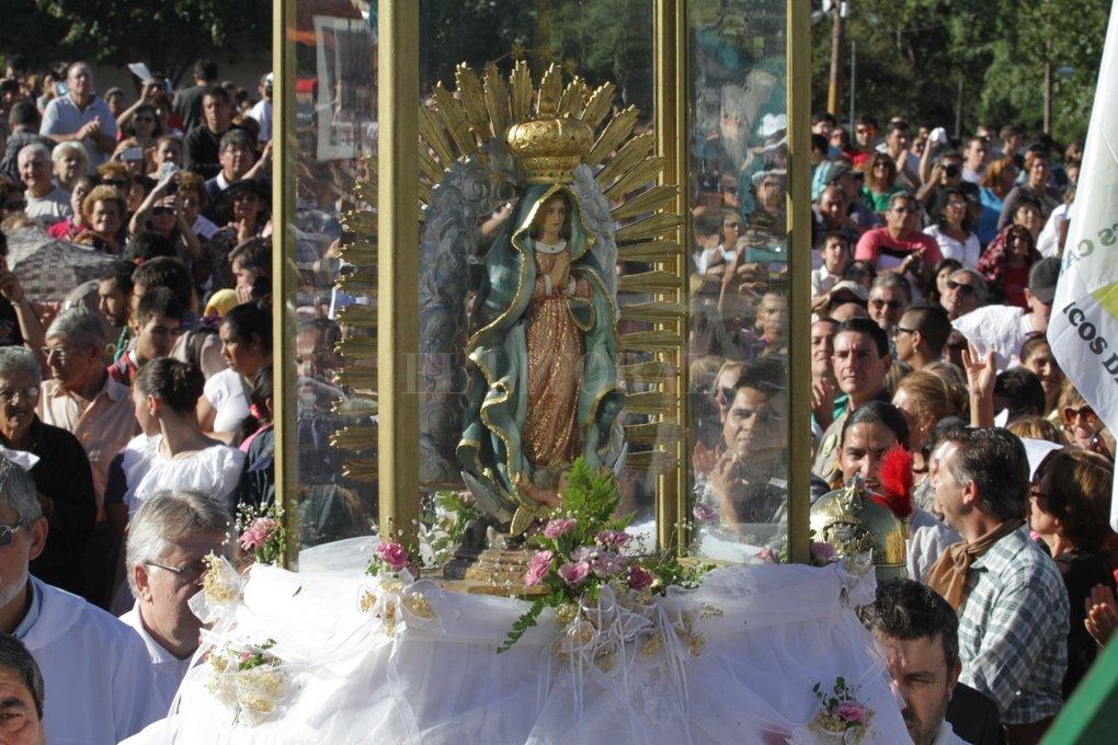 Como todos los años, la patrona de Santa Fe recibirá a los peregrinos.  Archivo El Litoral / Mauricio Garin