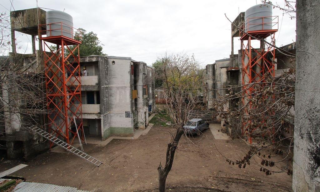 Monoblocks del barrio Acería. <strong>Foto:</strong> Archivo / Mauricio Garín