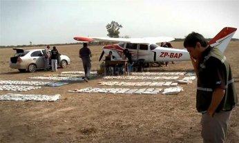 En lo que va del año detectaron más de 200 vuelos sospechados de transportar droga