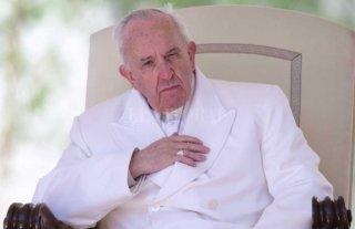 "Papa Francisco: ""Me da vergüenza que le digan madre a una bomba"""