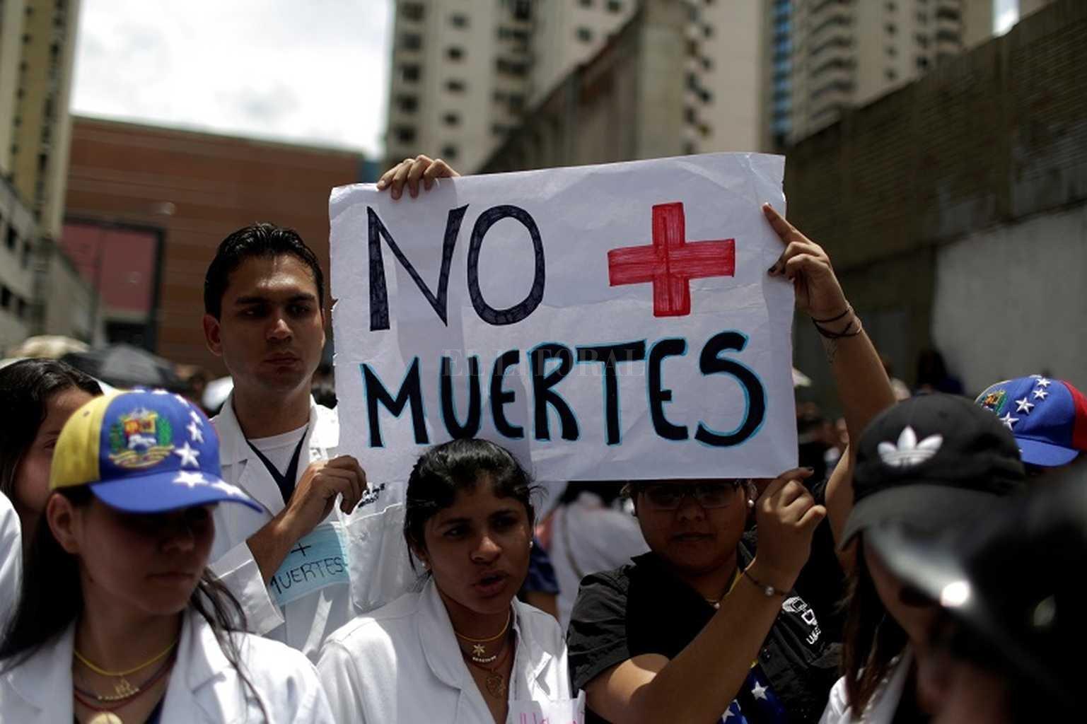 Venezuela: suman 46 los muertos en protestas