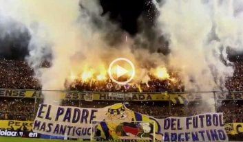 Video: polémicos festejos de Rosario Central