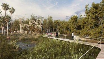Granja La Esmeralda: un proyecto para transformarla en un conector ecológico