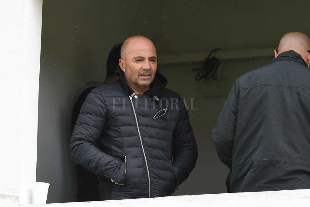 Sampaoli estuvo recorriendo varias canchas del fútbol argentino
