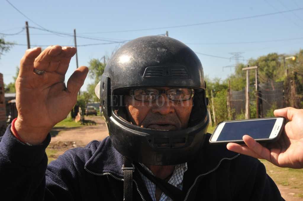 Ramón expuso su teoría en mediados de abril <strong>Foto:</strong> Flavio Raina