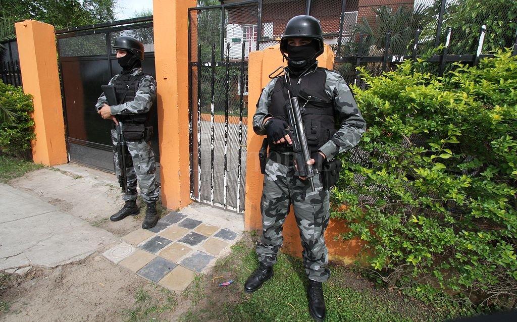 El 10 de diciembre de 2016 se produjo la detención del Zurdo Villarroel en un operativo conjunto entre fuerzas provinciales y federales. <strong>Foto:</strong> Archivo El Litoral / Mauricio Garín
