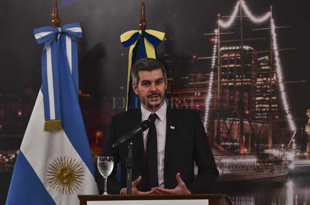 Peña se metió de lleno en las elecciones de Santa Fe
