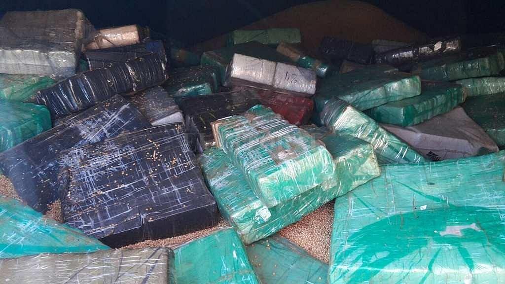 Secuestran 15 toneladas de marihuana en el Paraná