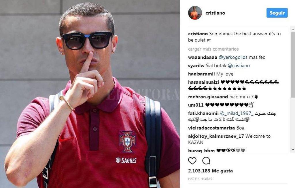 La Fiscalía denuncia a Cristiano Ronaldo por fraude de impuestos en España