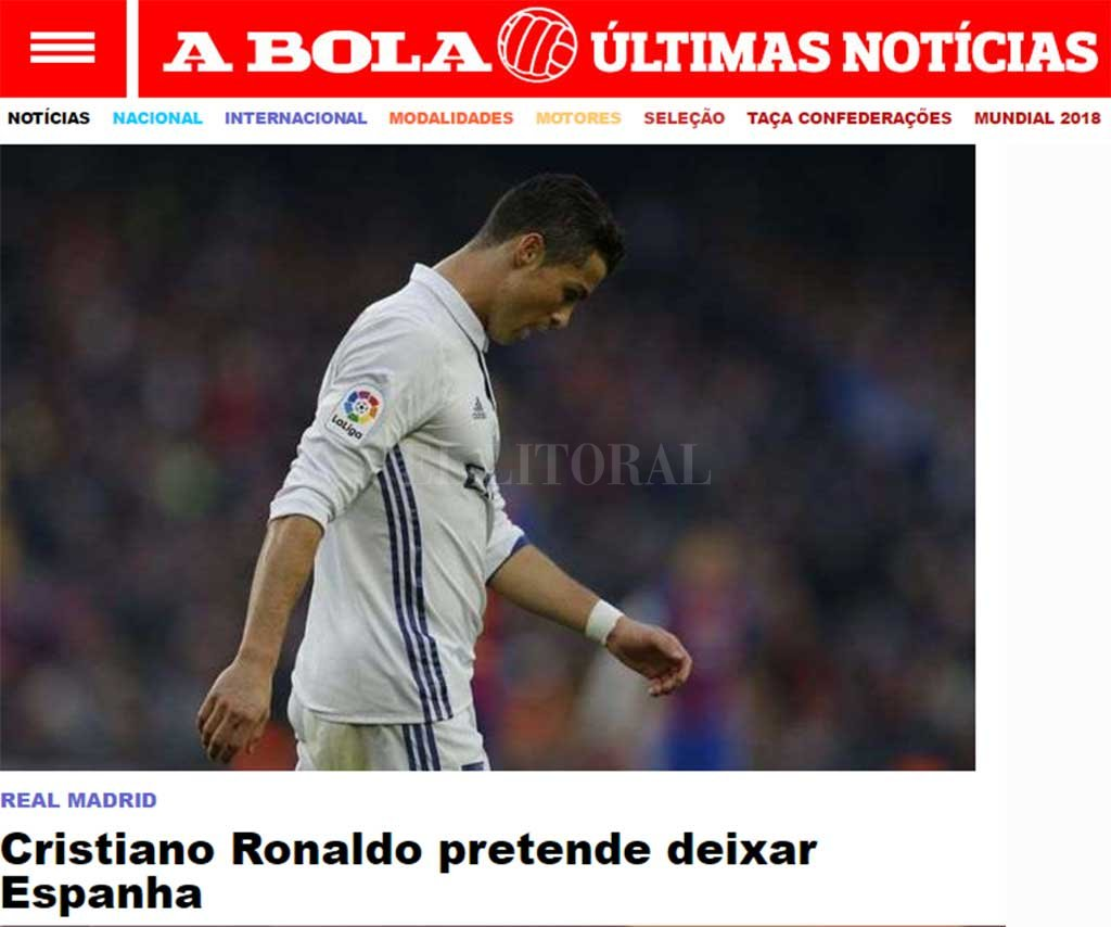 Cristiano Ronaldo y un sugerente mensaje antes de viajar a Rusia