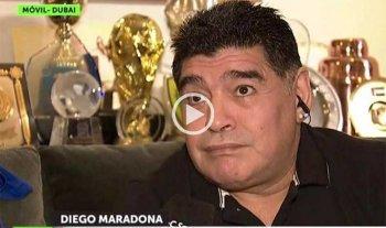 Maradona ninguneó a Sampaoli