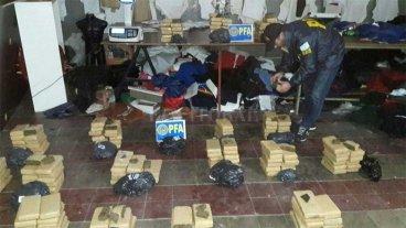 Incautaron 179 kilos de marihuana en Córdoba