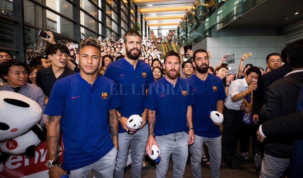 Por culpa de Messi, Neymar analiza abandonar el Barcelona