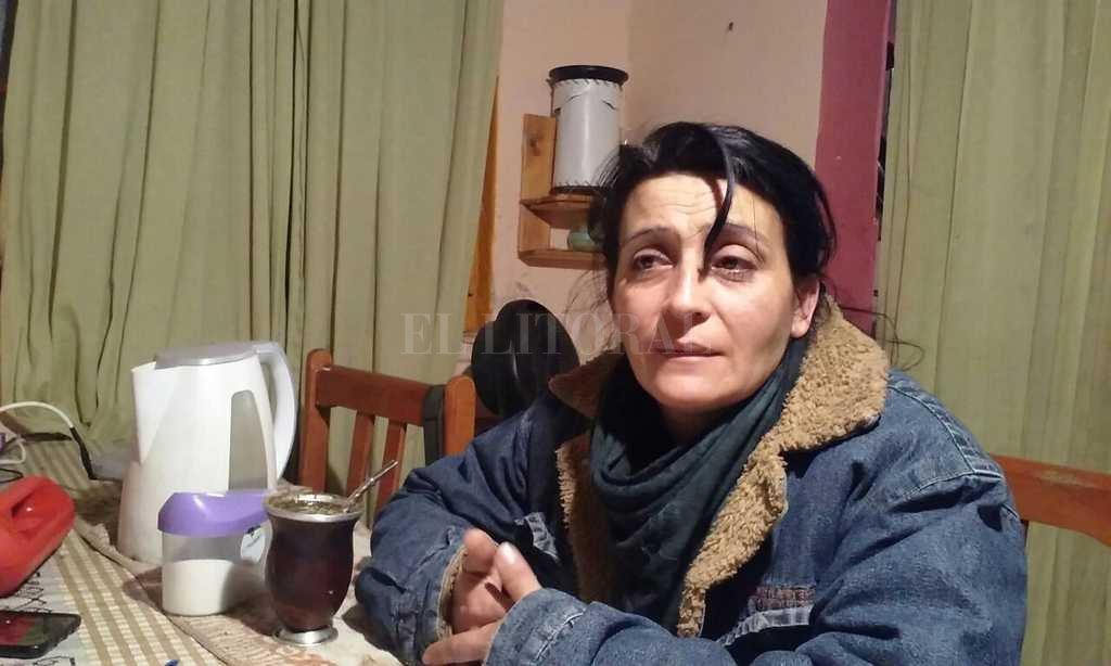 La mujer de Cejas aseguró que hará justicia por su marido Crédito: Archivo
