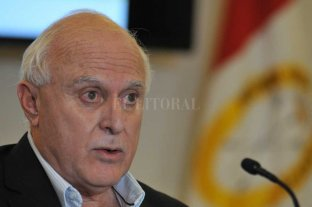 "Lifschitz pidió que se encuentre ""lo antes posible"" a los responsables del asesinato de Pablo Cejas"