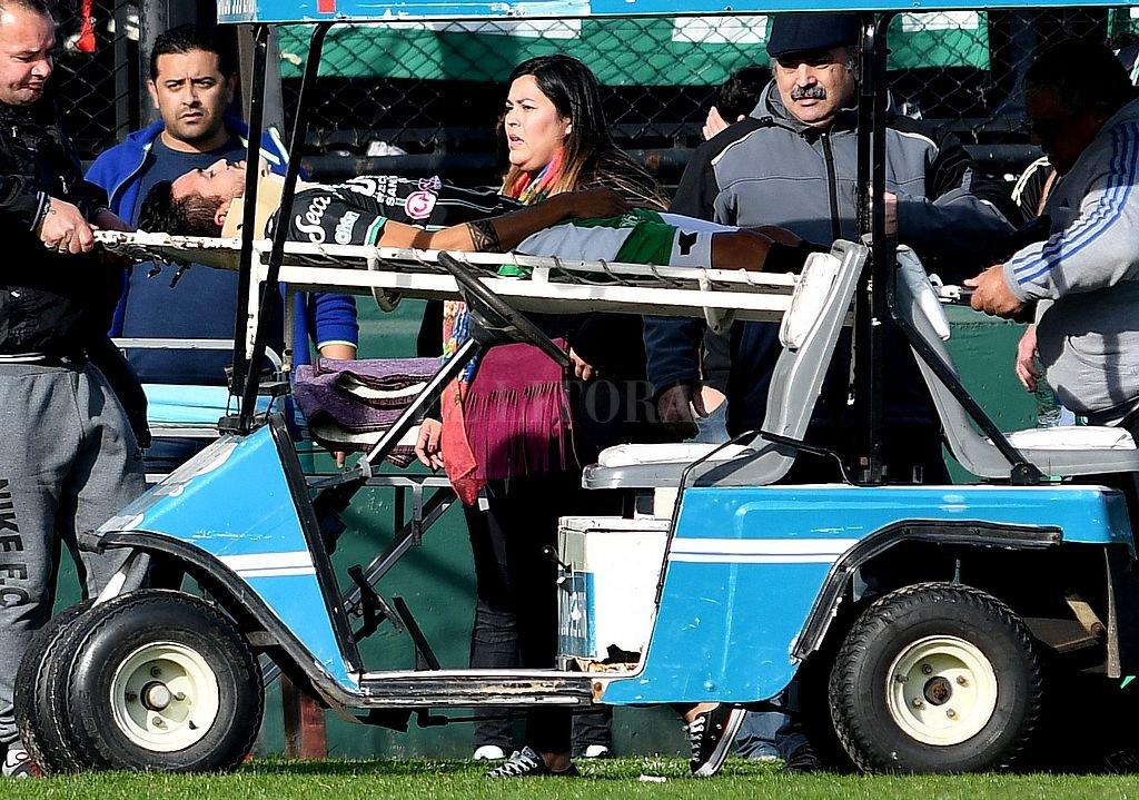 Un árbitro le salvó la vida a un jugador de San Miguel