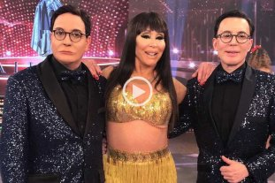 Polino, Moria y una performance imperdible en Showmatch