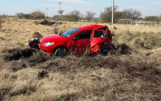 Violento accidente cerca de San Javier