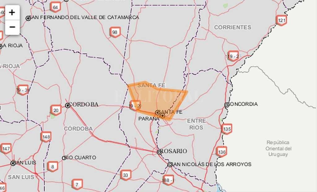 Alerta meteorológico por tormentas fuertes para la provincia de Buenos Aires