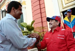 Maradona y un polémico mensaje a favor de Maduro