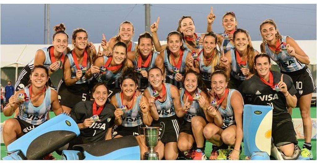 Las Leonas, finalistas de la Copa Panamericana