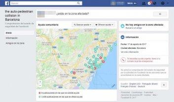 Las redes sociales activan sus protocolos de emergencia por el atentado de Barcelona