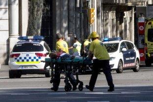 Hay dos argentinos heridos en el atentado de Barcelona