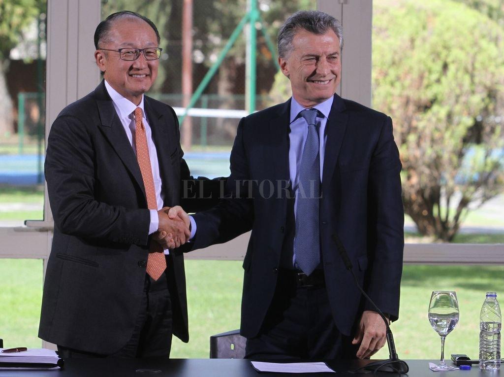 Macri recibe hoy al presidente del Banco Mundial