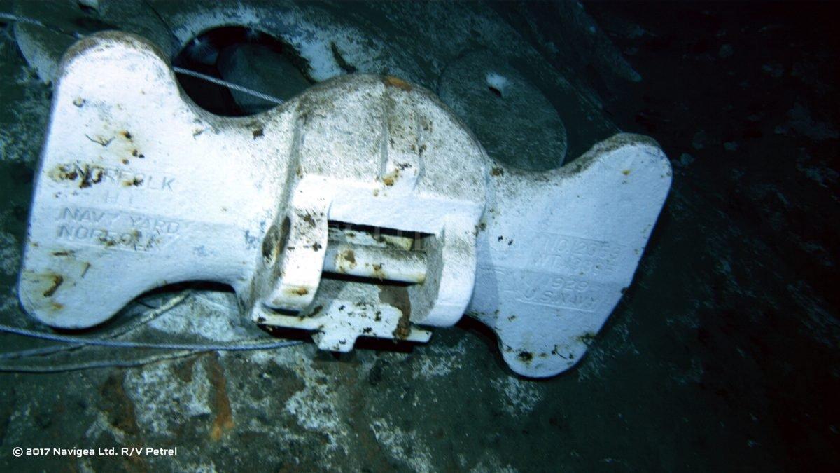 Encuentran restos de crucero de EEUU hundido en Segunda Guerra