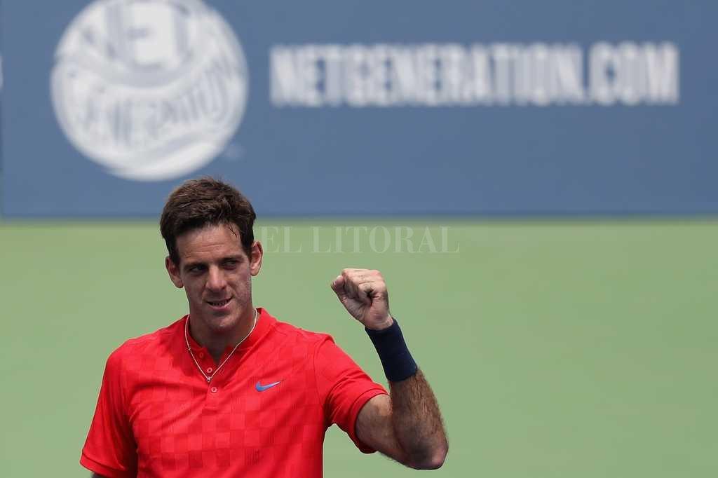 Se sortea el US Open con Del Potro firme