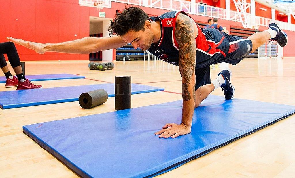 Carlos Francisco Delfino entrena con el Baskonia y quiere tener una oportunidad. Crédito: Gentileza Baskonia.com
