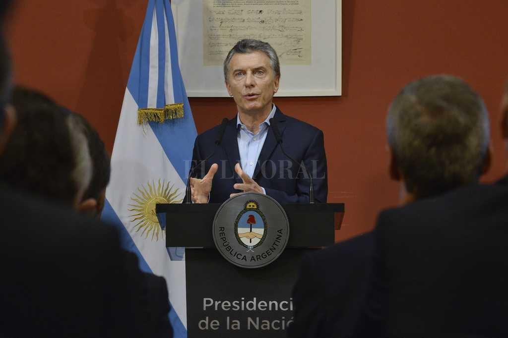 Macri instó a industriales a invertir y confiar en el país