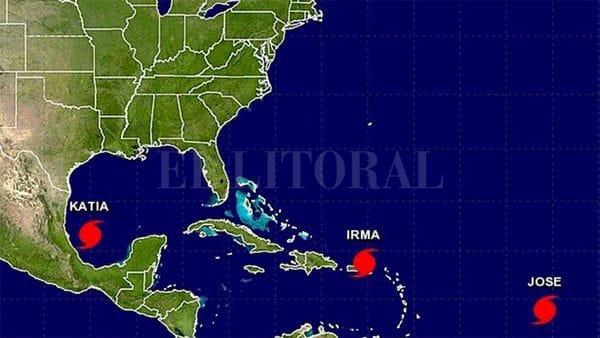 Huracán Irma se acerca a República Dominicana con fuertes lluvias y vientos