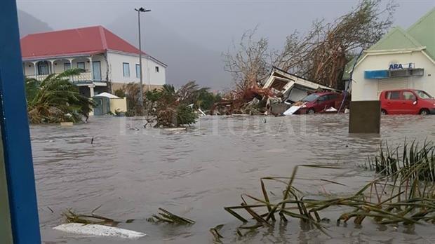 Aumentan vientos, lluvias e inundaciones en oriente cubano por Irma
