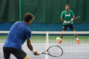 Copa Davis: Argentina se entrenó en Kazajistán