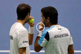 Copa Davis: Argentina perdió el dobles con Kazajistán