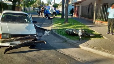 Violento accidente en Guadalupe -
