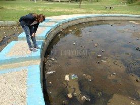 Marcela Aeberhard recorrió playas y parques de la ciudad