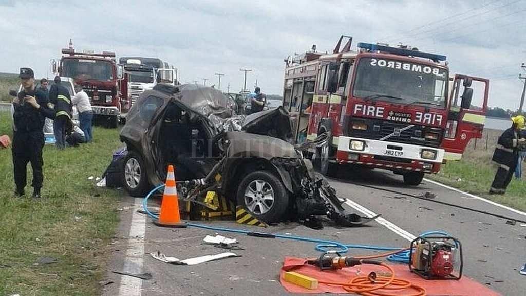 Tres muertos en un accidente múltiple en la ruta 33, Santa Fe
