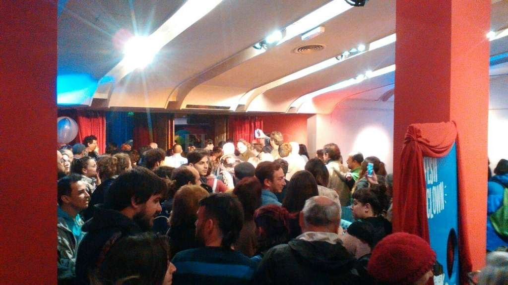 El público llenó los espacios del Centro Cultural en la noche del miércoles, en el marco del Festiclown. <strong>Foto:</strong> Gentileza CCP