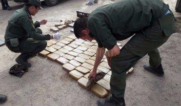 100 kilos de cocaína incautados en Córdoba