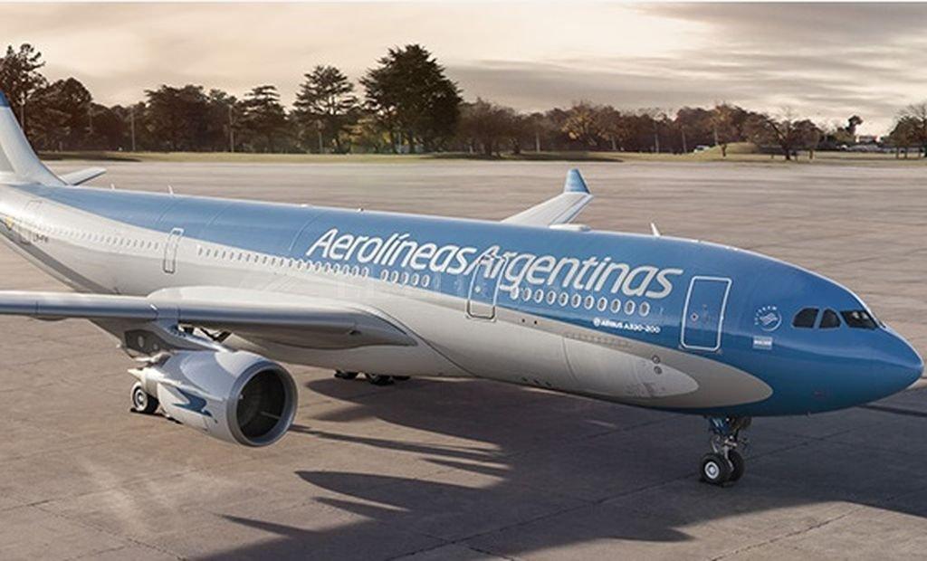 Caracas: Aerolíneas Argentinas suspende su vuelo Buenos Aires