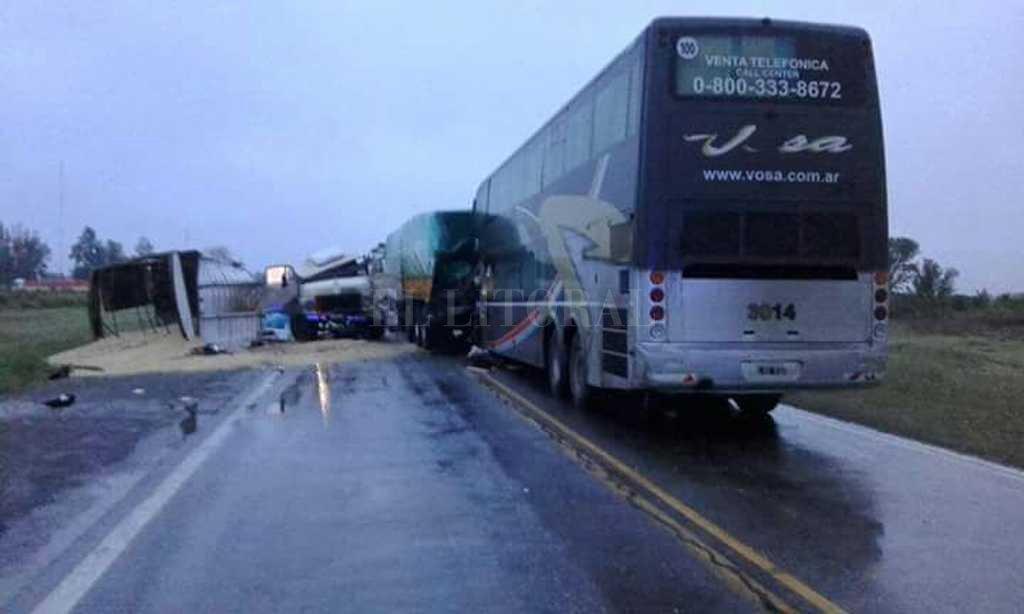 Al menos 3 muertos en un choque en la ruta 34