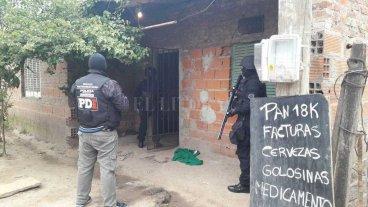 Incautaron droga en el noroeste de la ciudad de Santa Fe