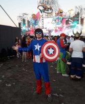 Mirá las mejores imágenes de la Fiesta de Disfraces de Paraná