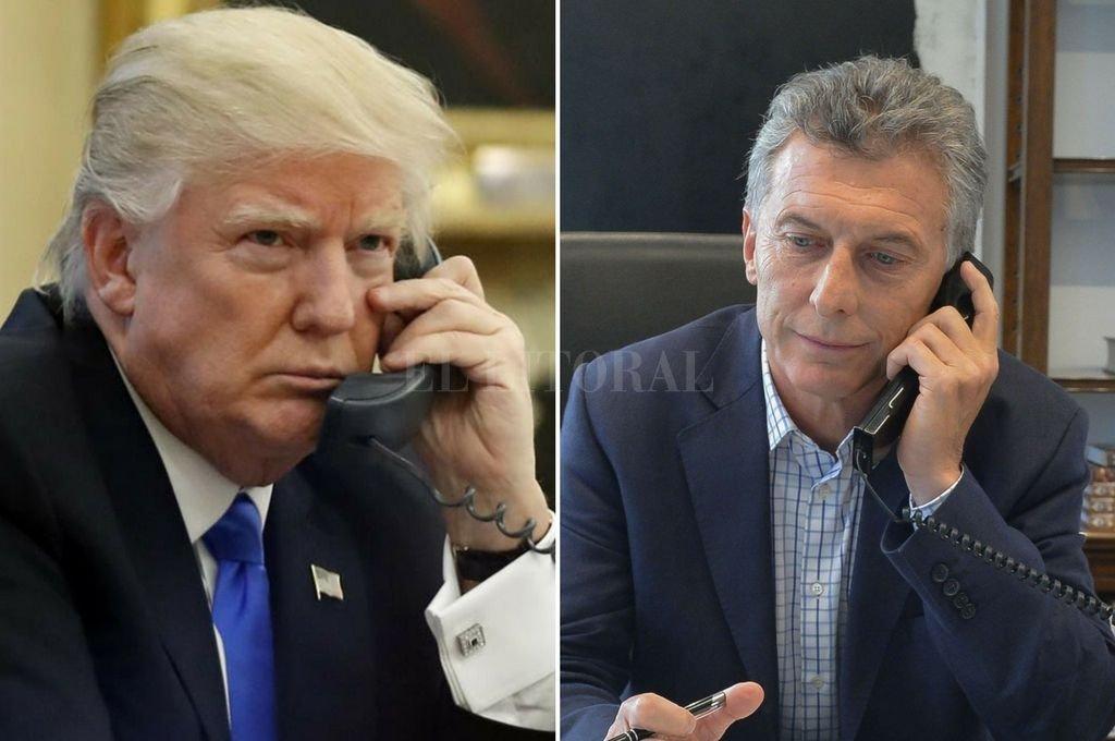 Trump y Macri apoyarán