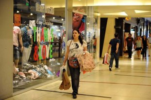 Subieron las ventas en shoppings y supermercados