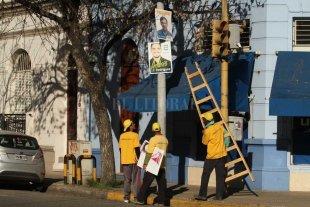 Comenzó la limpieza de la campaña política en la ciudad
